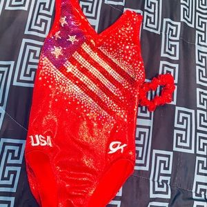 ❤️Gorgeous GK USA Leotard 🇺🇸 Size Child Small